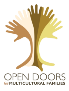 Open Doors for Multicultural Families logo