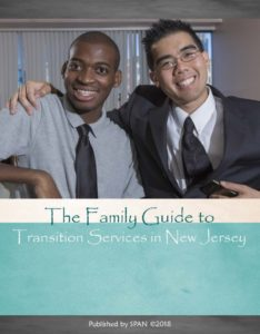 Cover page from Family Guide to Transition Services